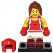 Идентифицирана минифигурка Лего Серия 16 - Кикбоксьорка - Lego series 16 Kickboxer - 71013-8