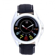 SCK by Vivah Mart Classical Black Round Dial Men's Wrist Watch