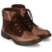 Big Fox Men's Brown Lace-up Riding Boots