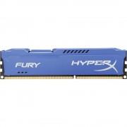 Modul radna memorija za osobno računalo HX316C10F/8 Kingston Fury Blue 8 GB 1 x 8 GB DDR3-RAM 1600 MHz CL10 10-10-37