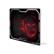 Mousepad Spirit of Gamer - SMOKEY SKULL Red (430 x 320 x 3mm; rosu)