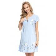 Camasa de noapte Tamara Blue, sarcina si alaptare