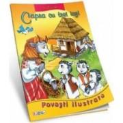 Povesti ilustrate - Capra cu trei iezi