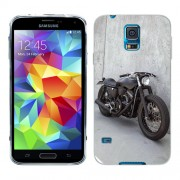 Husa Samsung Galaxy S5 Mini G800F Silicon Gel Tpu Model Motocicleta Vintage