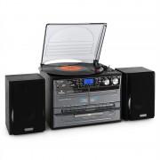 Auna TC-386WE, sztereó készülék, USB, MP3, magnetofon (MG-TC-386WE)