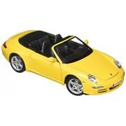 Maisto 1:18 Yellow Scale Porsche 911 Carrera S Cabriolet