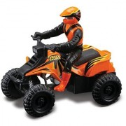 Maisto Racing #250 (Orange) * Off-Road Series Motorized ATV * 2010 Maisto ATV's Fresh Metal Pull-Back Motor Die-Cast Vehicle