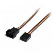 12in 4 Pin Fan Power Extension Cable - M/f