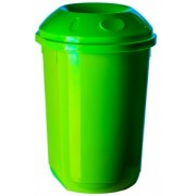 Cos gunoi colectare selectiva 40 l rotund verde