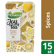 Pickwick Joy of tea ginger spices thee