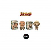 Funko 2 Pop Set Selly Dr Smolder Jumanji Jack Black The Rock La Roca