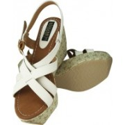 Sumi Collections Girls Wedges(Cream)
