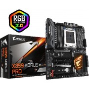 Matična ploča Gigabyte X399 AORUS PRO (STR4, 8xDDR4, Realtek ALC1220, 1xIntel GbE LAN chip, 2x(PCIEX16, 2xPCIEX8, 1xPCIEX4, 3x2 x M.2, 8xSATA 6Gb/s, RAID 0,1,10, 1xPS/2, 1x USB Type-C, 1xUSB 3.1 Gen 2