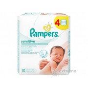 Pampers Sensitive vlažne maramice (4x56 kom)