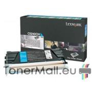 Тонер касета LEXMARK C5240CH (Cyan)