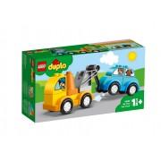 Set de constructie LEGO DUPLO Primul meu camion de remorcare