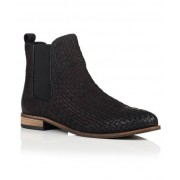 Superdry Millie Woven Chelsea Boots Black