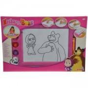 Детска магическа дъска за рисуване - Маша и мечока, Simba, 040125