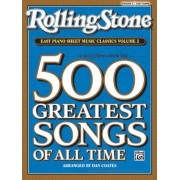 Rolling Stone Easy Piano Sheet Music Classics, Volume 2: 34 Selections from the 500 Greatest Songs of All Time, Paperback