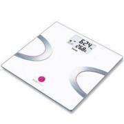 Електронен диагностичен кантар Beurer, измерване на телесно тегло и мазнини и вода, мускулна и костна маса, AMR/BMR, Bluetooth, BF710
