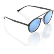 Ray-Ban Oval Sunglasses(Blue)