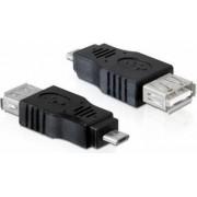 Adapter DELOCK, micro USB (M) na USB 2.0 (Ž), OTG funkcija