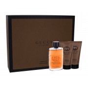 Gucci Guilty Absolute Pour Homme 50Ml Edp 50 Ml + Aftershave Balm 50 Ml + Shower Gel 50 Ml Per Uomo(Eau De Parfum)