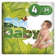 Moltex Fraldas Moltex Bio Baby T4 (9-13 kg) 34 uds
