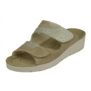 Rohde Rohde comfort Dames Slipper - naturel - Size: 42