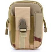 """GOCART Universal Outdoor Waist Bag, Tactical EDC Molle Pouch Camping Belt Purse Fit 6.5"""" Phone Waist Belt Bag(Beige)"""