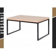 Kapelańczyk Prostokątny stolik do salonu w drewnianej okleinie - Kapelańczyk