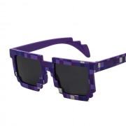 Ochelari de soare Minecraft Violet