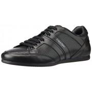 Calvin Klein Men's Black Leather Sneakers - 9.5 UK