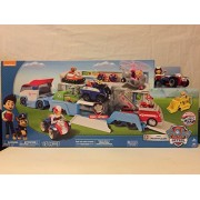 Paw Patrol - Paw Patroller & Paw Patrol Rescue Marshall's Ambulance, Vehicle and Figure