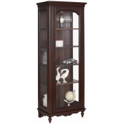 Home affaire vitrinekast »Katarina«, glasinzet in de houten deur, massief beuken romp, breedte 72 cm