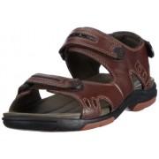 Clarks Men's Un Charter Fashion Sandals Ebony Leather 9 UK