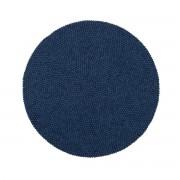 myfelt - Alva Filzkugelteppich Ø 140 cm, dunkelblau