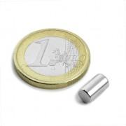 Magnet neodim cilindru, diametru 5 mm, putere 900 g