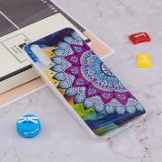 Para Huawei P20 Pro Noctilucent Media Flor Patron TPU Suave De Nuevo Caso De La Cubierta Protectora Cove