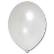 Lufi (metál), gyöngyház, 30cm, 100 db/cs