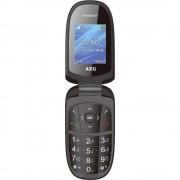 AEG M1500 preklopni telefon crna