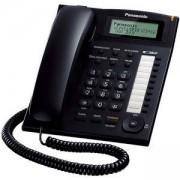 Стационарен телефон Panasonic TS 880FX, Черен, 1010049