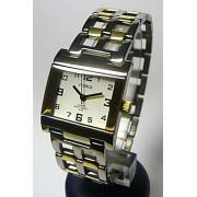 Titanové antialergické hranaté dámské hodinky Foibos 20872 (bicolor)