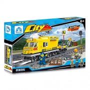 Generic Qunlong 322Pcs Block Gallop Train Series Model Action Figures Blocks Technic Compatible Small Bricks Mincrafted Boys Birthday