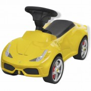 vidaXL Ride-on Car Ferrari 458 Yellow
