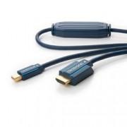 Clicktronic Cavo Mini DisplayPort HDMI M/M 5m Alta Qualità