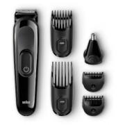 Kit de ingrijire multifunctional Braun 6in1 MGK3020, 13 setari (Negru)