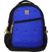 Marimco High Quality Tough Polyster 34L Casual School/college/Laptop/Travel 34 L Backpack(Blue, Black)