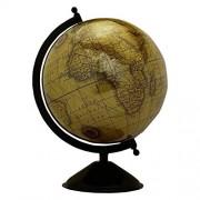 Big Rotating Desktop Globe World Earth Brown Ocean Table Decor Globes