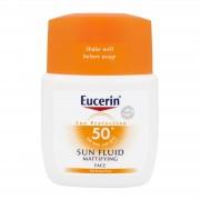 Eucerin Sun Fluid Opacizzante - Fluido Viso Protettivo Spf 50+ Effetto Mat (50ml)